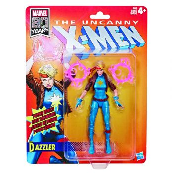 Marvel Legends 80th Anniversary The Uncanny X-Men Retro Collection Dazzler Figure